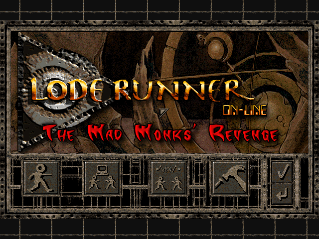 Completed main menu