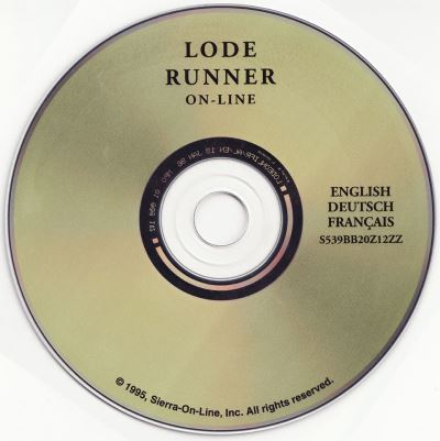 Lode Runner Online CD