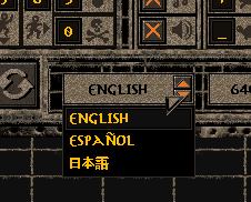 Japanese language option